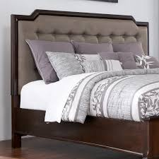 millennium larimer queen upholstered headboard with button tufting