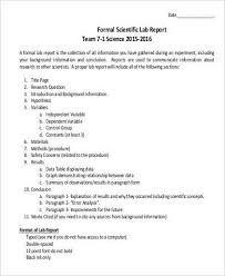 lab report conclusion template 23 science lab report template images science practical
