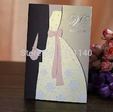 Bride To Groom Wedding Card Bride And Groom Wedding Invites Paperinvite