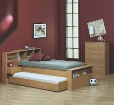 maroon wall paint bedroom exciting trundle bed for inspiring modern bed design