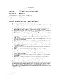Nuclear Medicine Technologist Resume Examples by Jobs Medical Billing Field 4 Jobs Involved In Forensics