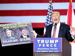 by linking trump with hate groups clinton spotlights the trump slams hillary and obama lights up crowd at florida rally