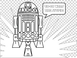 star wars fall of the resistance coloriage r2d2 coloring