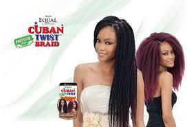 cuban twist hair equal synthetic hair braids double strand style cuban twist braid 16
