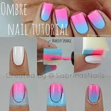 sabrinas nails ombre nail tutorial amanda pinterest ombre