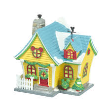 department 56 mickey village building mickey u0027s house the