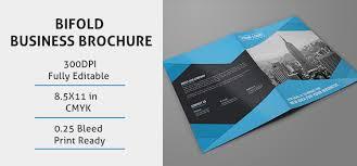 fold business brochure template