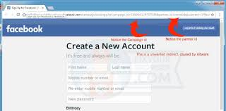 remove unwanted redirects to facebook adware removal instruction