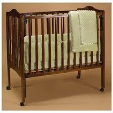 Portable Crib Bedding Babydoll Heavenly Soft Portable Crib Bedding Green
