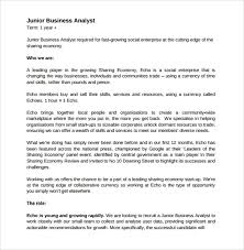 Example Business Analyst Resume by Sample Business Analyst Resume 8 Documents In Pdf Word