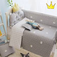 3pcs set crib bedding set 100 cotton baby bedding set black tree