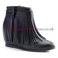 womens boots york royal boutique s ankle boots york ronda ffc fringe wedge