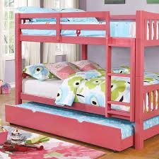 Bunk Beds Pink Blue Pink Gray Walnut Or White Bunk Bed