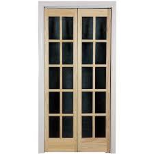 glass bifold closet doors gallery glass door interior doors