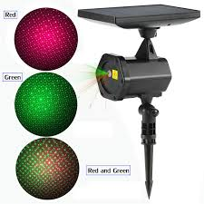 solar christmas light projector christmas lights solar laser led projector red green for outdoor