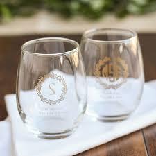 stemless wine glasses wedding favors wine glass wedding favors beautiful bridesmaid wine glasses