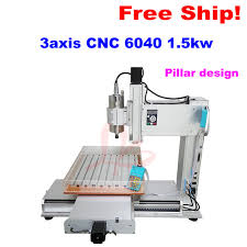 3 axis cnc router table pillar type metal cnc router 6040 1 5kw table column 3 axis cnc