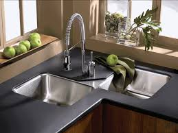 invite the luxury sense with all metal kitchen faucets