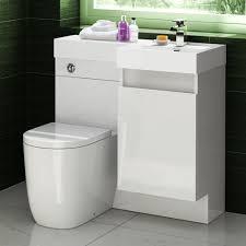 basin u0026 toilet vanity unit combination oval bathroom suite sink wc