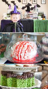 Halloween Brain Cake by Monsters Ball Halloween Party Pizzazzerie