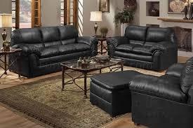 black bonded leather contemporary sofa u0026 loveseat set