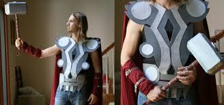 Halloween Costumes Cheap Badass Thor Costume Halloween Cheap