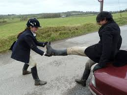 dirty riding boots legendary irish hunting country life