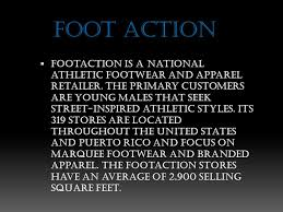 foot action footaction is a national athletic footwear and