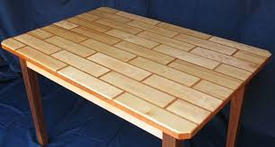 how to build a table top building a tile patterned table top