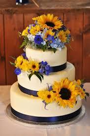 1000 ideas about sunflower simple sunflower wedding cakes