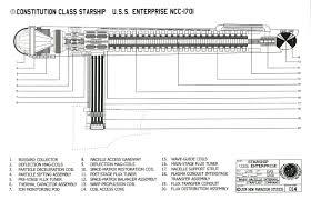 star trek enterprise floor plans star trek blueprints constitution class starship u s s