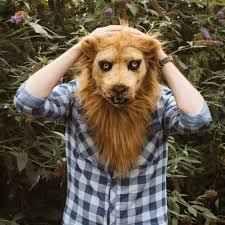 lion mask thumbs up uk lion mask