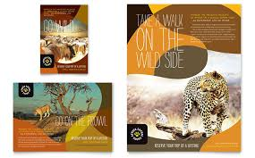 zoo brochure template zoo animal park flyers templates designs pets animals