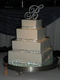 cake ribbon 4 row cake ribbon rhinestone wedding cake