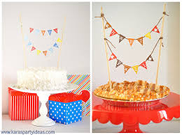 kara u0027s party ideas free mini cake pennant bunting for