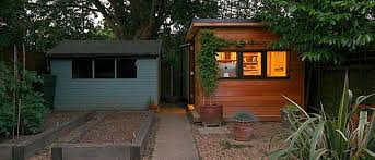 Prefab Backyard Cottage In It Studios U0027 Prefab Garden Office Spaces Let You Work From Your