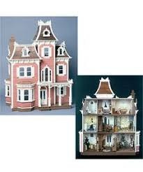 barbie scale victorian town house dollhouse kit town house