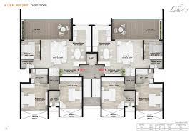Floor Plan O2 Rohan Leher 2 Baner Baner Pune