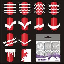 french manicure nail guides water nail polish design