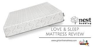 love mattress nest love bed mattress review girl on the mattress