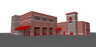 tasty two story fire station floor plans style office or other two