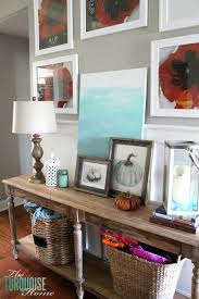 Turquoise Console Table Console Table Progress U0026 Other Ramblings The Turquoise Home
