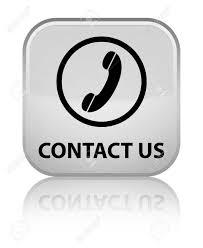 phone icon contact us phone icon round border white square button stock
