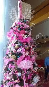 pink flamingo christmas tree at phoenix arizona children u0027s