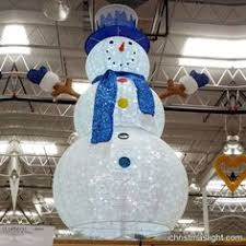 lighted snowman outdoor decorations led snowmen