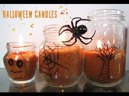 halloween candles diy youtube