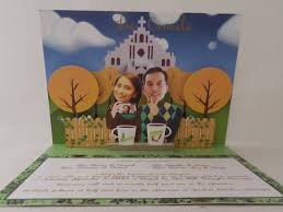pop up wedding invitations wedding pop up invitations pop up occasions