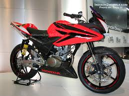 cbr honda bike 150cc honda to launch new motorcycle cbf stunner indiaon2wheels