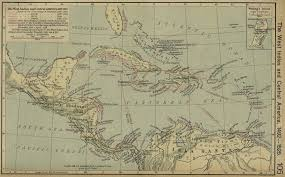 Map Of West Indies Historical Atlas By William R Shepherd Perry Castañeda Map