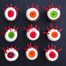the tiny funnel halloween marshmallow monster eyes